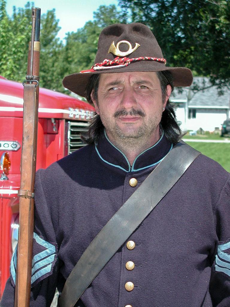 Vintage Hollywood Glamour - Civil War Soldier Original