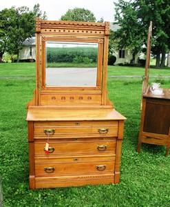 Eastlake Pine Dresser