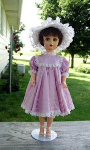 Watch for this 1950's Fashion Doll at Countryside Antique Mall or at the 2004 Covered Bridge Festival